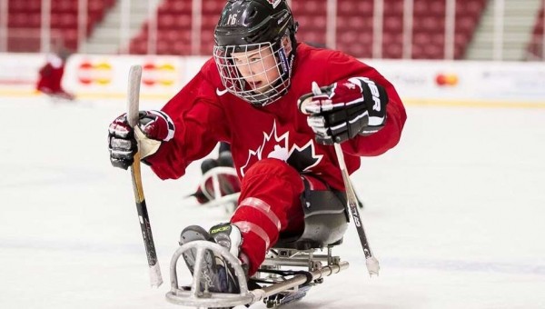 Jacob LeBlanc selected to attend Team Canada Para Hockey Selection Camp