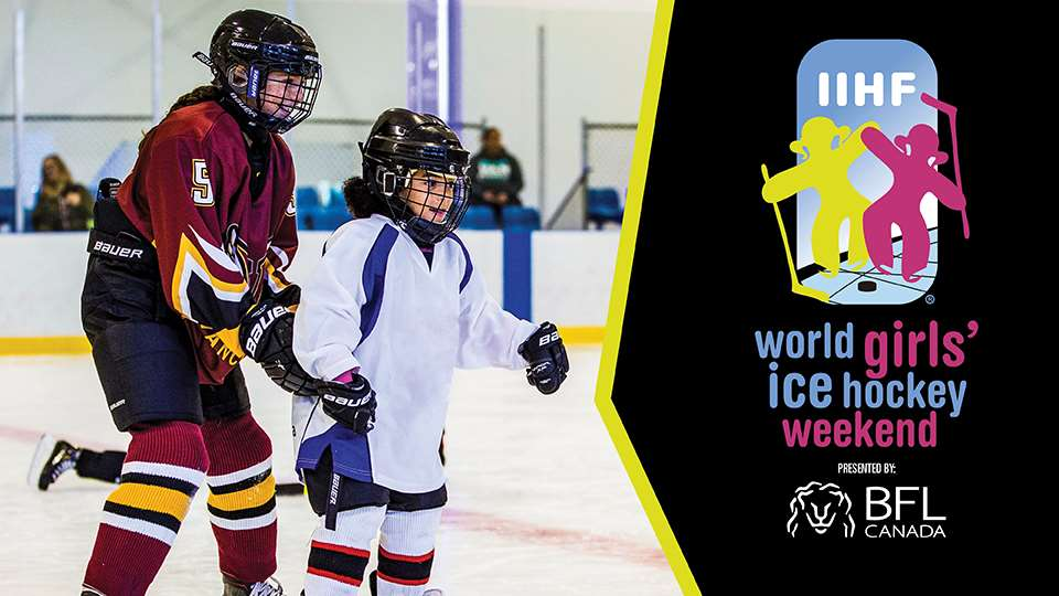 Coming together for female hockey!
