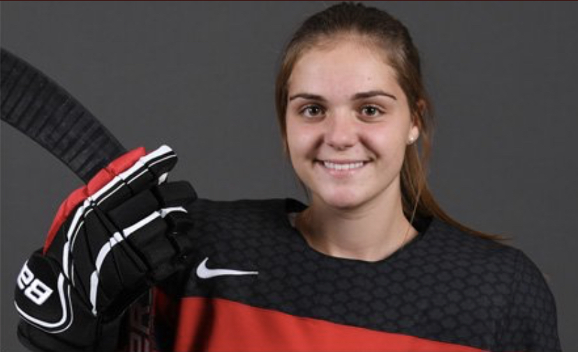Dominique Cormier selected for National Women's Under-18 Team