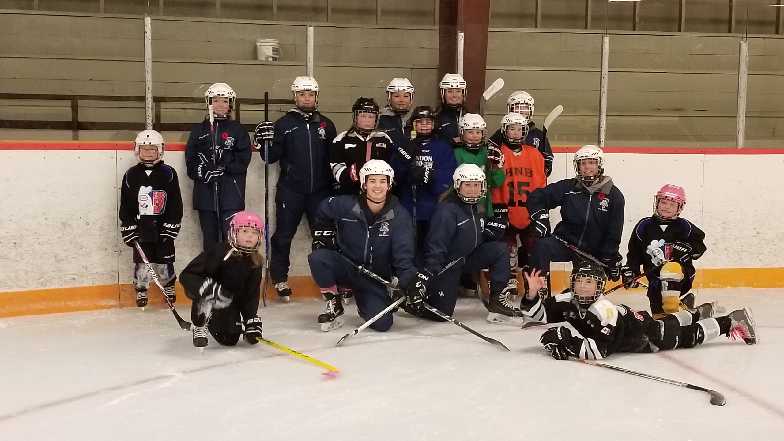 Stanley Minor Hockey awarded Top Association for Development Weekend